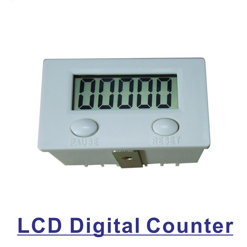 10pcs LCD Digital Electrical Counter 5-Digit Display Accumulation Counter Sensor Punch Machine Counter 0-99999 цена