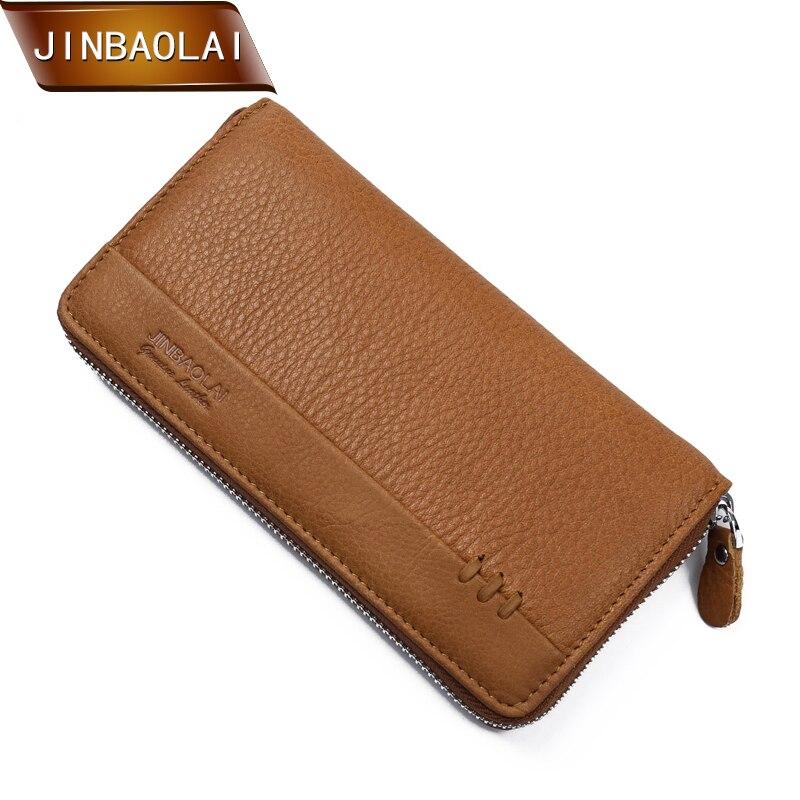 2018 New Men Wallets Long Zipper Men Clutch Wallet Business Card Holder Coin Purse For Women Clutch Money Bags Carteira Carteras