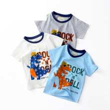 T-Shirts For Girls Cartoon T Shirt Baby Girls Tees Kids Tshirt Summer Teen Clothes For Boys 2 3 4 5 6 Year Kids Chothes цена и фото