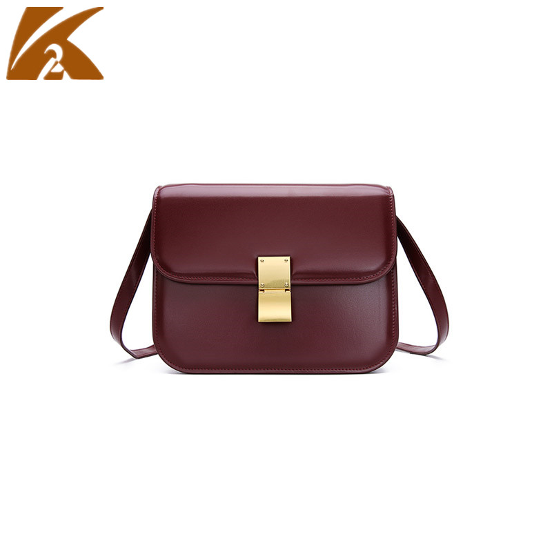 KVKY 2018 Vintage Real Cow Genuine Leather Chain Party Purse Shoulder Bag Crossbody Bags for Women Casual Small Messenger Bags beibaobao 2018 new arrival vintage pu leather handbags women small shoulder bags party purse crossbody shoulder messenger bag