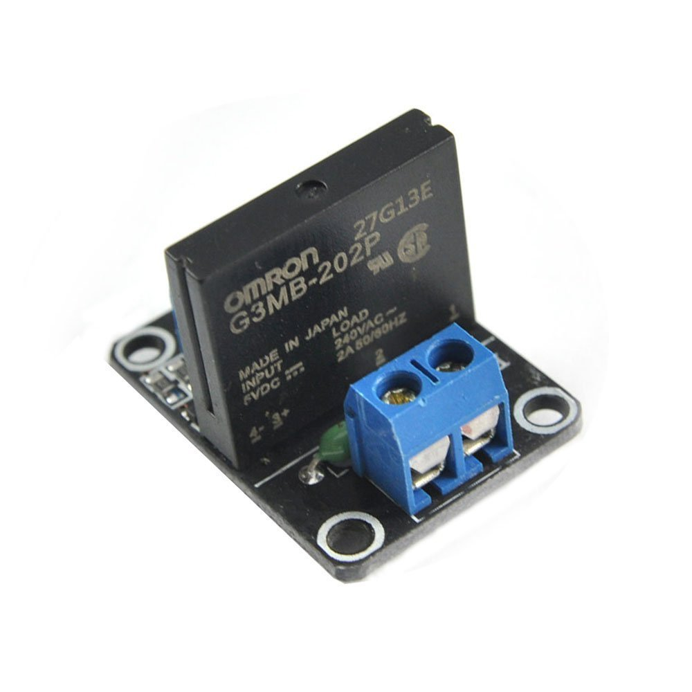 small resolution of a03b 1 road 5v low level solid state relay module with fuse ssr 250v 2a fuse in integrated circuits from electronic components supplies on aliexpress com
