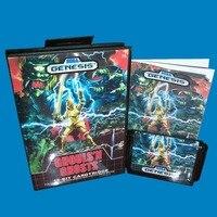 Ghouls'n Hayaletler Ile Kutu Ve Manuel Için 16bit MD Oyunu Kart Sega Mega Drive Genesis Için