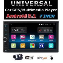 EinCar 7 inch HD Touchscreen Android 5.1.1 Car GPS Navigation Stereo System – 2 Din Quadcore Car Entertainment Multimedia FM/RDS