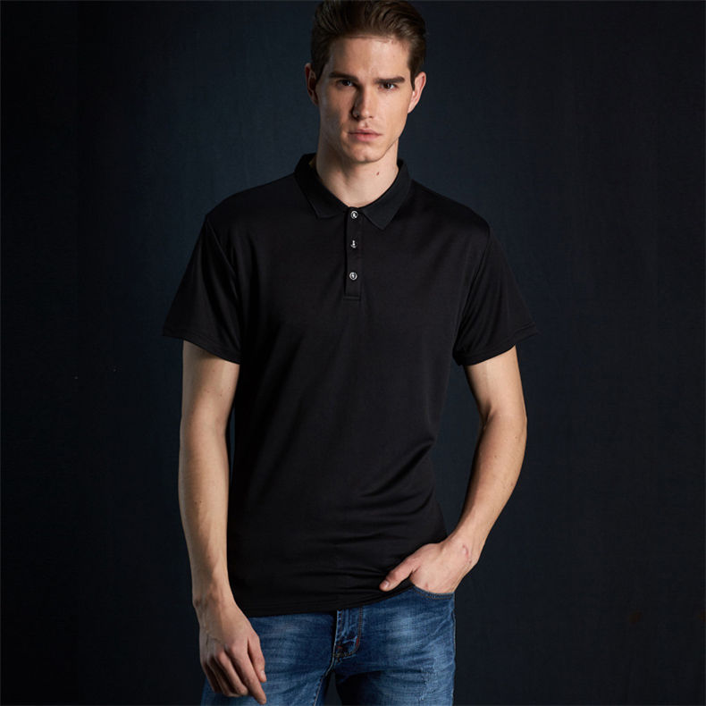 Fast Dry Polo Shirt Men Summer Couple Casual Short Polos Male Fashion Quality Men Women Sport Top Tee 2019 New Fitted Size S-4XL 08