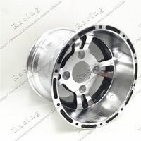 ATV 10inch Rear Wheel Aluminum Alloy Rims 10x 8 Quad Chinese Off Road 4 wheel Motorcycle Motocross