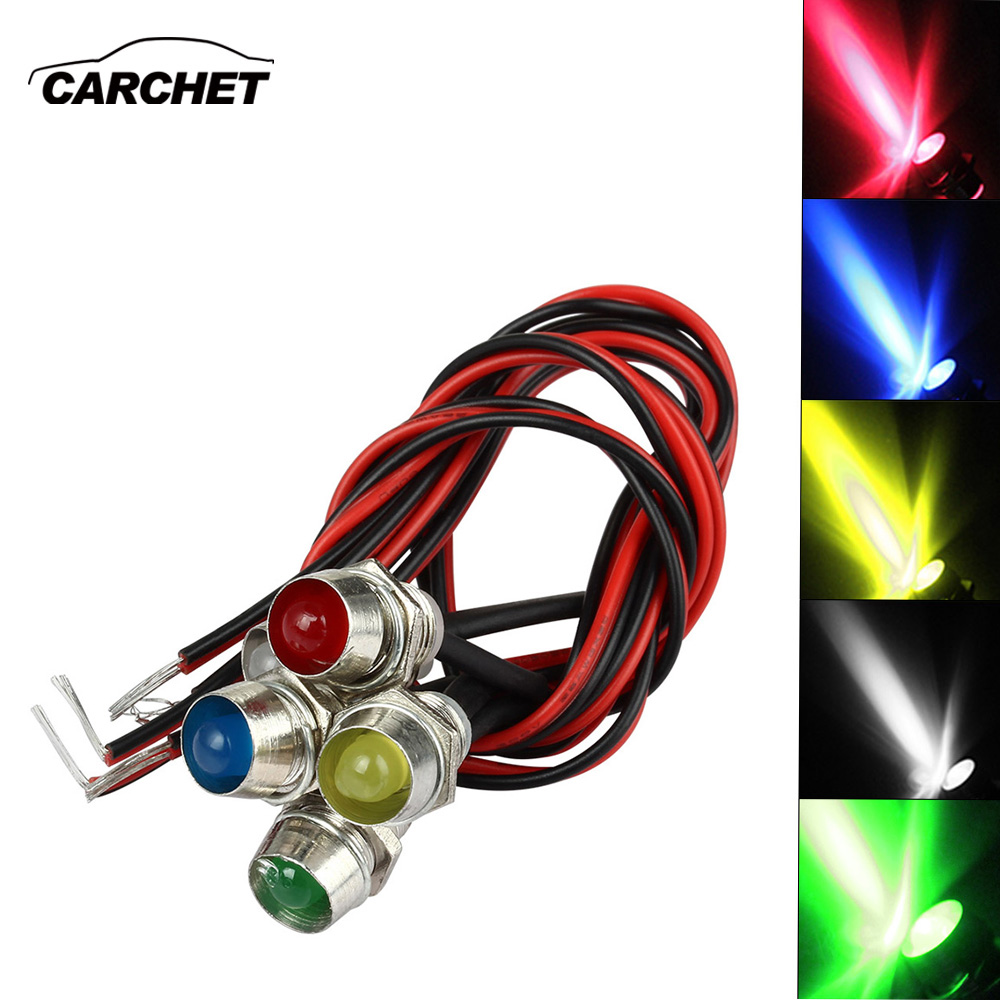 Detail Feedback Questions About Carchet Led Indicator Light Lamp Pilot Dash Directional Car Truck Boat 5 Colors Set Green