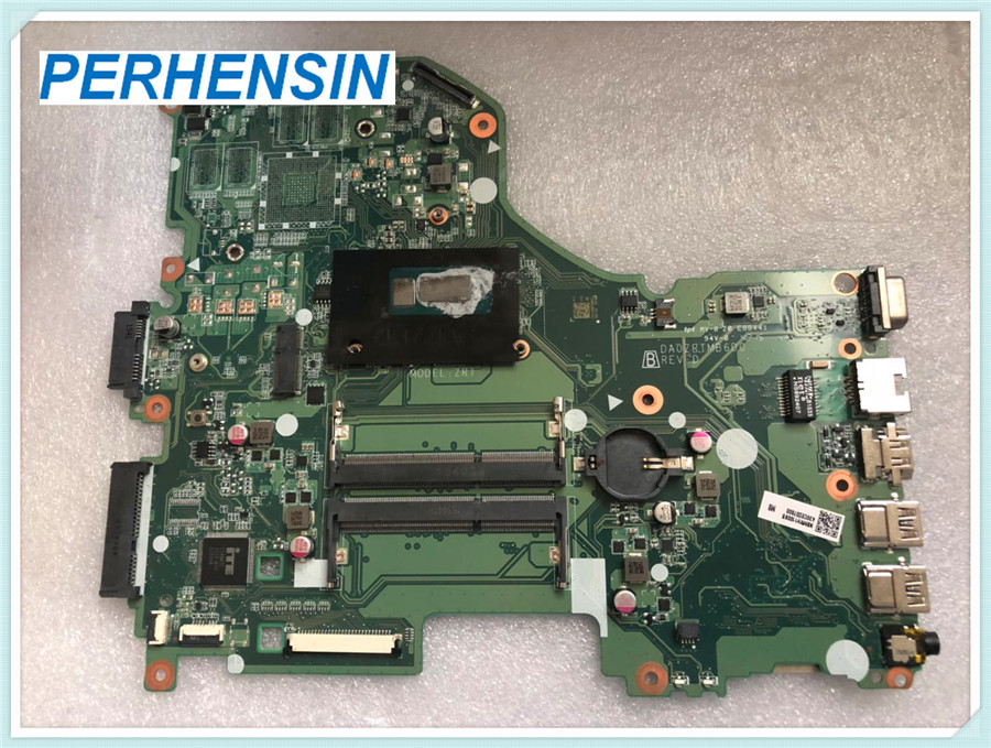 FOR Acer FOR aspire E5 573 E5 573G Laptop Motherboard DA0ZRTMB6D0 SR1E3 3556U 100 WORK PERFECTLY