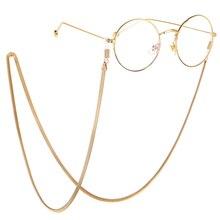 Eyewear-Accessories Sunglasses Snakeskin Chain Lanyard Neck-Strap-Holder Reading Copper