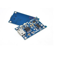 5 STKS micro usb 5 v 1a 18650 lithium batterij Opladen Board Charger Module Met Bescherming Dual Functies 1A Ion(China)