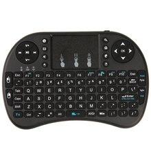 2.4G Inglés Versión Mini USB Wireless Keyboard Touchpad Del Ratón Del Aire Fly Ratón Control Remoto para Ventanas Android TV Box teléfono