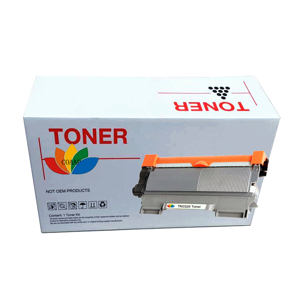 1pk XXL Brother TN 2220 Compatible Toner TN-2220 HL MFC DCP Fax Black TN2220 cartridge 1pcs tn2075 tn 2075 tn 2075 black compatible toner cartridge for brother hl 2040 2050 2037 2030 dcp 7025 7225n 2070 2080 printer