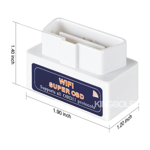 Image 4 - ELM327 WIFI With Chip PIC18F25K80 Super Mini V1.5 OBDII OBD2 Auto Diagnostic Tool IOS Android iPhone iPad ELM 327