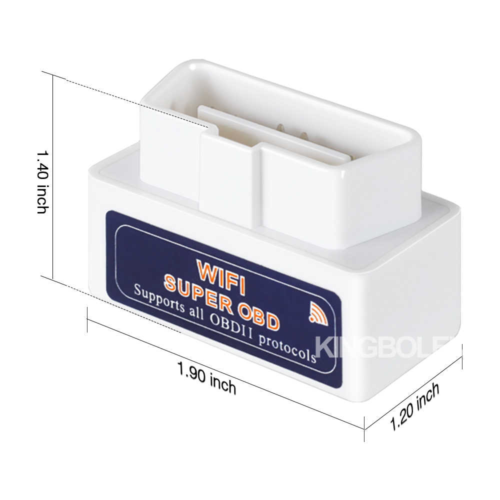 ELM327 wifi チップ PIC18F25K80 スーパーミニ V1.5 obdii obd 2 自動診断ツール ios アンドロイド iphone ipad elm 327