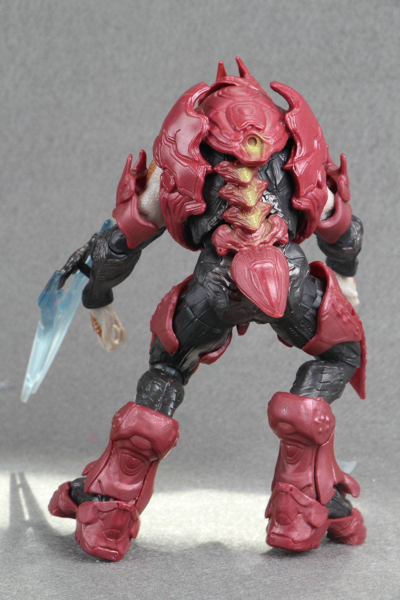 Halo 6 Covenant Elite Zealot Action Figure loose no pack Conllection Toys