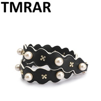 New 2018 Chic strap with pearls and rivets handbag belt trendy design bags strap bag parts bag accessory easy matching qn340