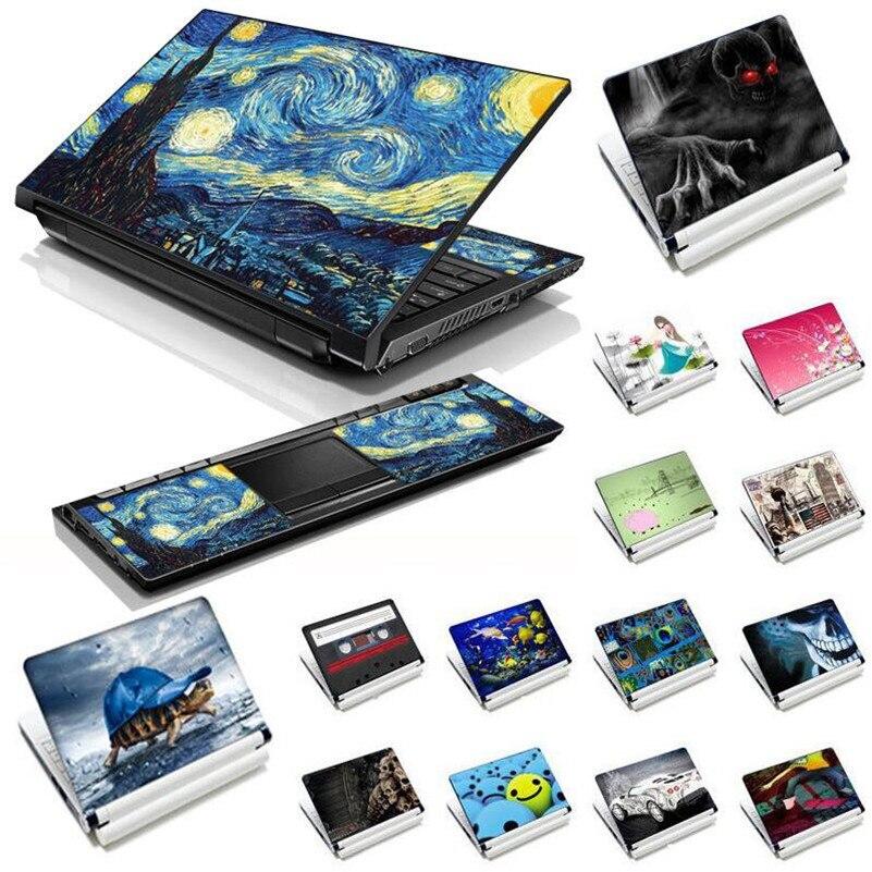 """11.6 """"12"""" 13 """"13.3"""" 14 """"15"""" 15.4 """"15.6"""" universal portátil decalque adesivo capa protetor de notebook pele para macbook lenovo hp asus acer pc"""