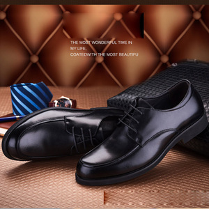 Image 3 - REETENE Oxford chaussures pour hommes chaussures habillées bout rond affaires mariage hommes chaussures formelles résistant chaussures rétro hommes