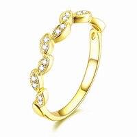 Sólido 14 k Oro Amarillo SI/H Diamantes de Compromiso Anillo de Bodas Band 3.5mm Ancho Joyería Fina EE. UU. tamaño 3.5-12