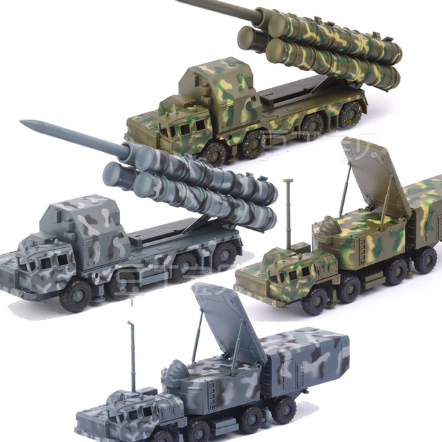 1:72 Russia Army  S-300 PMU Missile Systems Radar Vehicle Plastic Assembled Truck Puzzle Building Kit Military Car Model Toy