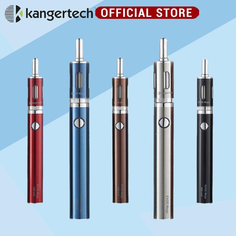 Kanger Evod Mega Kit 2.5ml and 1900mah Battery with Micro USB Cable Evod Mega Electronic Cigarette Starter Kits evod passthrough electronic cigarette 5pin micro usb bottom