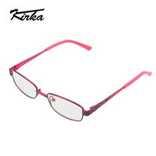 Кирка бренд дети мальчик оптические очки оправа Рецептурные очки для близоруких очков рамки защитные металлические очки от 2 до 13 лет