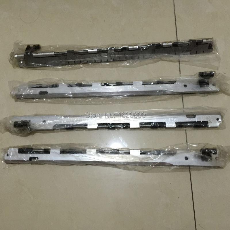 2 pieces GT-1304,Heidelberg gripper bar,13x18,Heidelberg T-Platen press,replacement parts for Heidelberg printing machine
