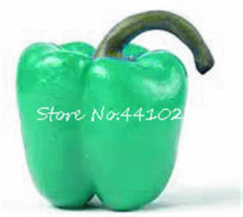 100 ピース Rare Rainbow 混合黄 Puple 赤緑白ミックス甘いベル唐辛子盆栽野菜正方形パプリカ寒さグリーン