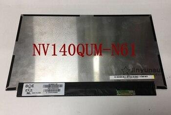 "For BOE NV140QUM-N61 NV140QUM N61 LED Display LCD Screen Matrix for Laptop 14.0"" 3840X2160 Matte Replacement"