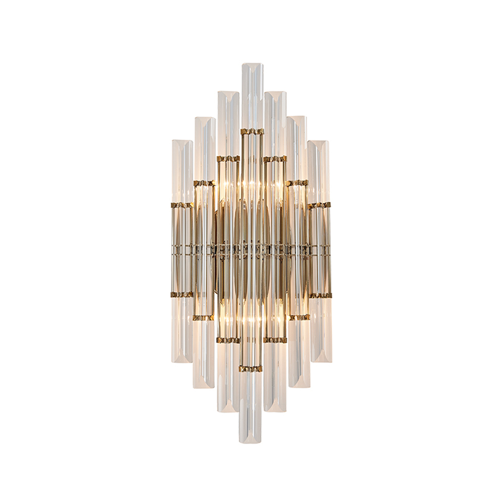 gold crystal wall light modern wall lamp for living room ...