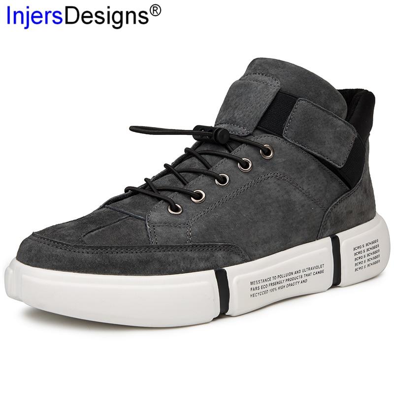 c8674a38a Top Venda Formadores Sapatos De Fur 39 amp  Homens Conforto Algodão Black  High gray Skateboarding black Ocasionais Fur Moda ...