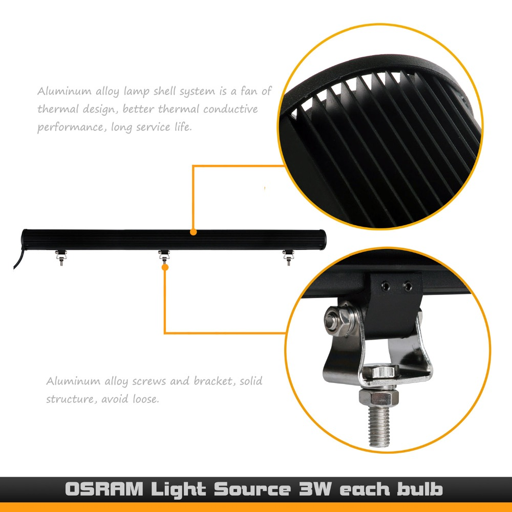 47inch 306w combo led light bar double row mount wiring harness for jeep wrangler off road utv in car light assembly from automobiles motorcycles on  [ 1000 x 1000 Pixel ]