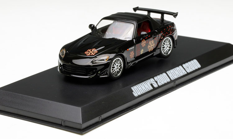 ФОТО Value Out of print GreenLight 1:43 S2000 HNDA S2000 Speed and Passion 2 Movie Edition Alloy car model Collection model