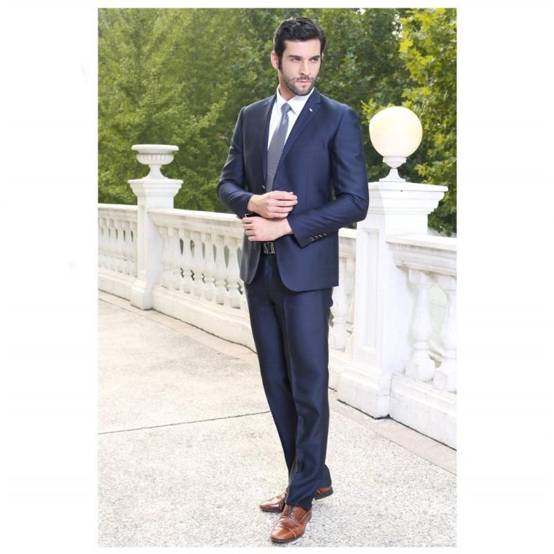 Wedding Party Man Suit Lapel One Button Groomsman Tuxedos Wedding Suits For Men Groom Men Wear Custom Made 2 Pieces Coat+Pants