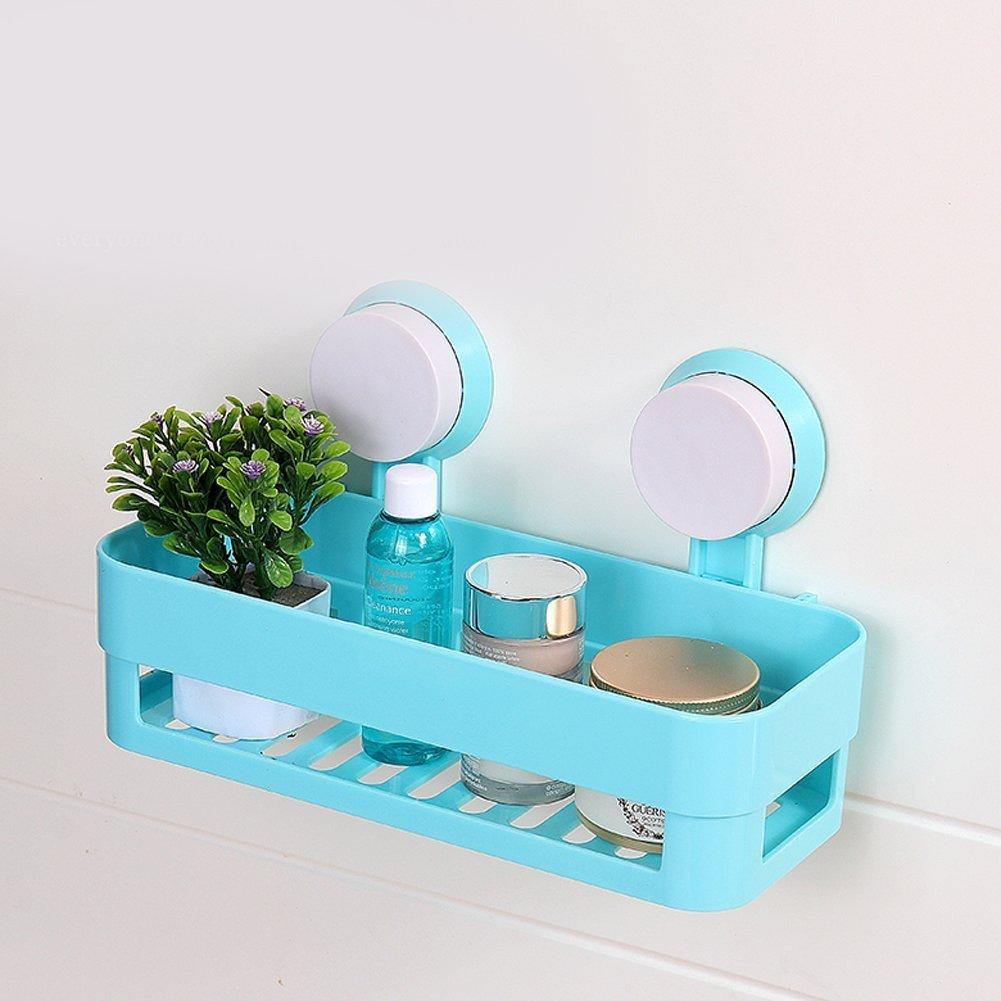Kitchen Bathroom Shelf Plastic Shower Caddy Organizer Holder Tray ...