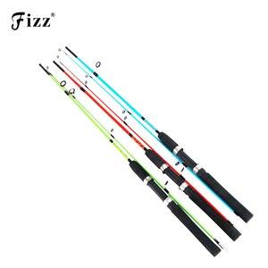 Cheap Solid Glass Fiber Lure Fishing Rod 1.2/1.35/1.5M Fishing Rod Pole for River Lake Sea Boat Fishing Random Color Low Price