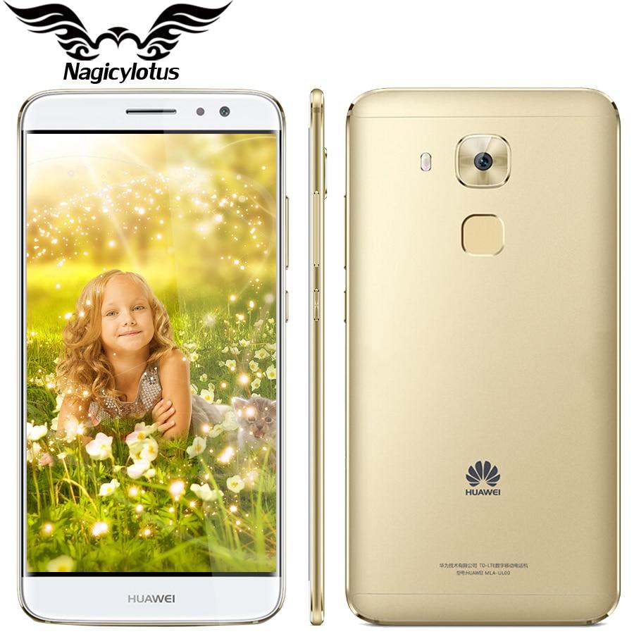Original Huawei G9 Plus 4G LTE Snapdragon 625 MSM8953 Octa Core 2.0GHz 3GB RAM 32GB ROM 1920*1080px 16MP Dual SIM Fingerprint
