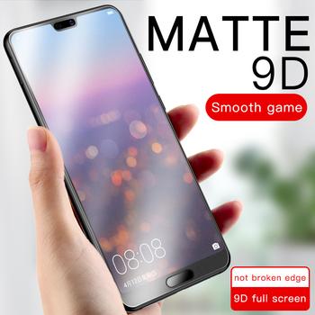 9D pełna pokrywa szkło hartowane do telefonu Huawei honor 8X Max 8A 10 Lite V10 20i 20 Pro grać matowy Anti odciski palców 9H Screen Protector tanie i dobre opinie QINUO Matte CN (pochodzenie) Przedni Film Honor 10 Matte Frosted Tempered Glass For Huawei honor 8X Matte Frosted Tempered Glass For Huawei honor 8X Max