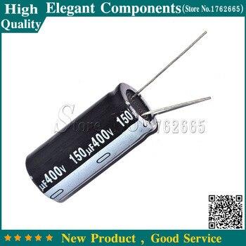 10 sztuk 150 UF 400 V 400 V/150 UF kondensator elektrolityczny rozmiar 18*35mm 400 V 150 UF kondensator elektrolityczny aluminium