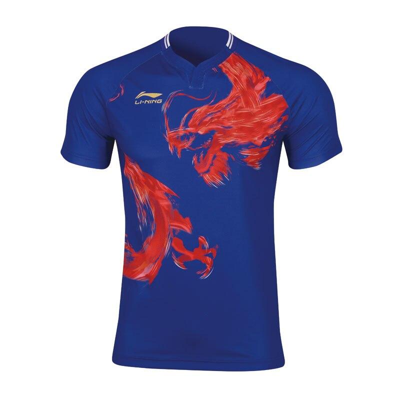 Li Ning tenis stołowy damskie konkurencji koszulki dla