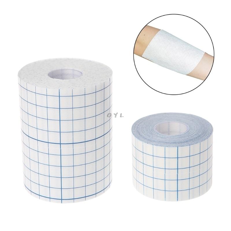 Waterproof Transparent Adhesive Wound Dressing Medical Fixation Tape Bandage