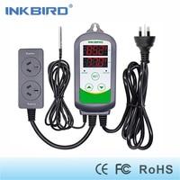 Inkbird ITC 308S AU Plug 240V Pre Wired Digital Thermostat Aquarium Dual Stage Temperature Controller With