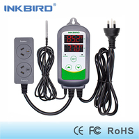 Inkbird ITC 308S AU Plug 240V Pre Wired Digital Thermostat Aquarium Dual Stage Temperature Controller With