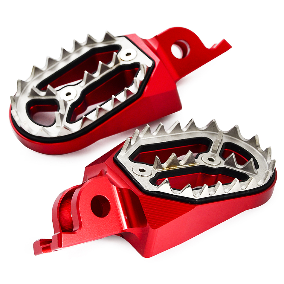 Footrest Foot Pegs Rest For Honda CR125R CR250R CRF250R CRF450R 2018 CRF250X CRF450X CRF150R CRF450RX CRF 250L 250M CRF250Rally