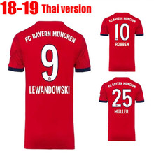 2019 Home away shirt Adulto RONALDO Bayernes DYBALA 2018 2019 camisas  T-shirt 2018 LEWANDOWSKI ROBBEN MULLER HIGUAIN jérsei de f. 7d7d9657994a7