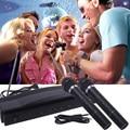 2016 New Hot Professional SpeakerWireless Microphone Set Dual Handheld + 2 x Mic Cordless Receiver Radio Sets