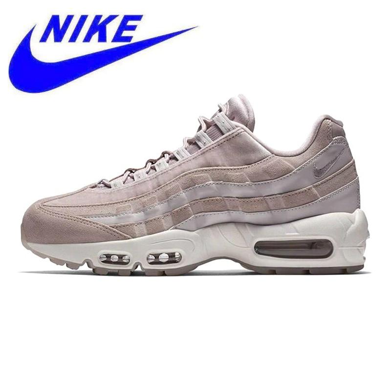 new product d286e 68439 D origine Nike Wmns Air Max 95 LX chaussures de course de Femmes, Rose