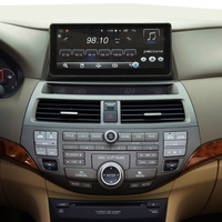 10.25inch Android 6.0 navigation car player GPS For Honda accord / crosstour 8 2008 2013 bluetooth audio SWC WiFi internet