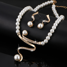 Vintage Simulated Pearl Jewelry Sets