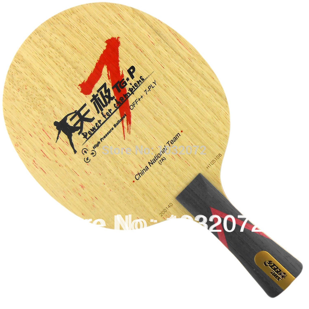 DHS TG7.P Table Tennis / PingPong Blade dhs tg 506 tg506 tg 506 7 ply off table tennis pingpong blade 2015 the new listing factory direct selling