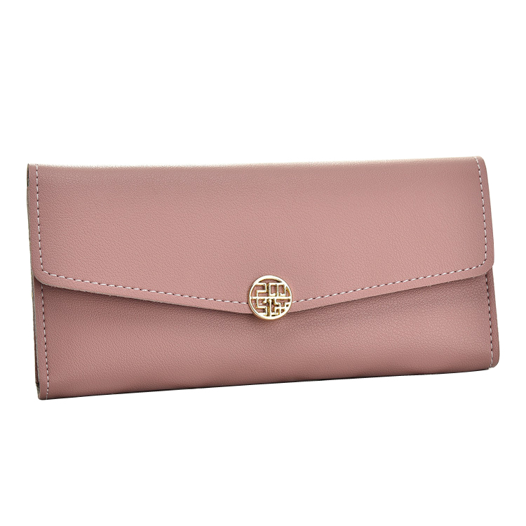 New Fashion Brand Women Wallets Soft PU Leather Lady Handbags Woman Hasp Clutch Coin Purse Cards ID Holder Long Wallet MoneyBags